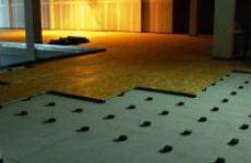 Плавающий пол – решение проблемы бытовых шумов в многоэтажках