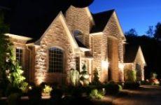 Освещение дома снаружи